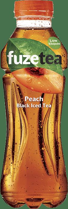 Fuze Tea Varieties - Lemon Black, Peach