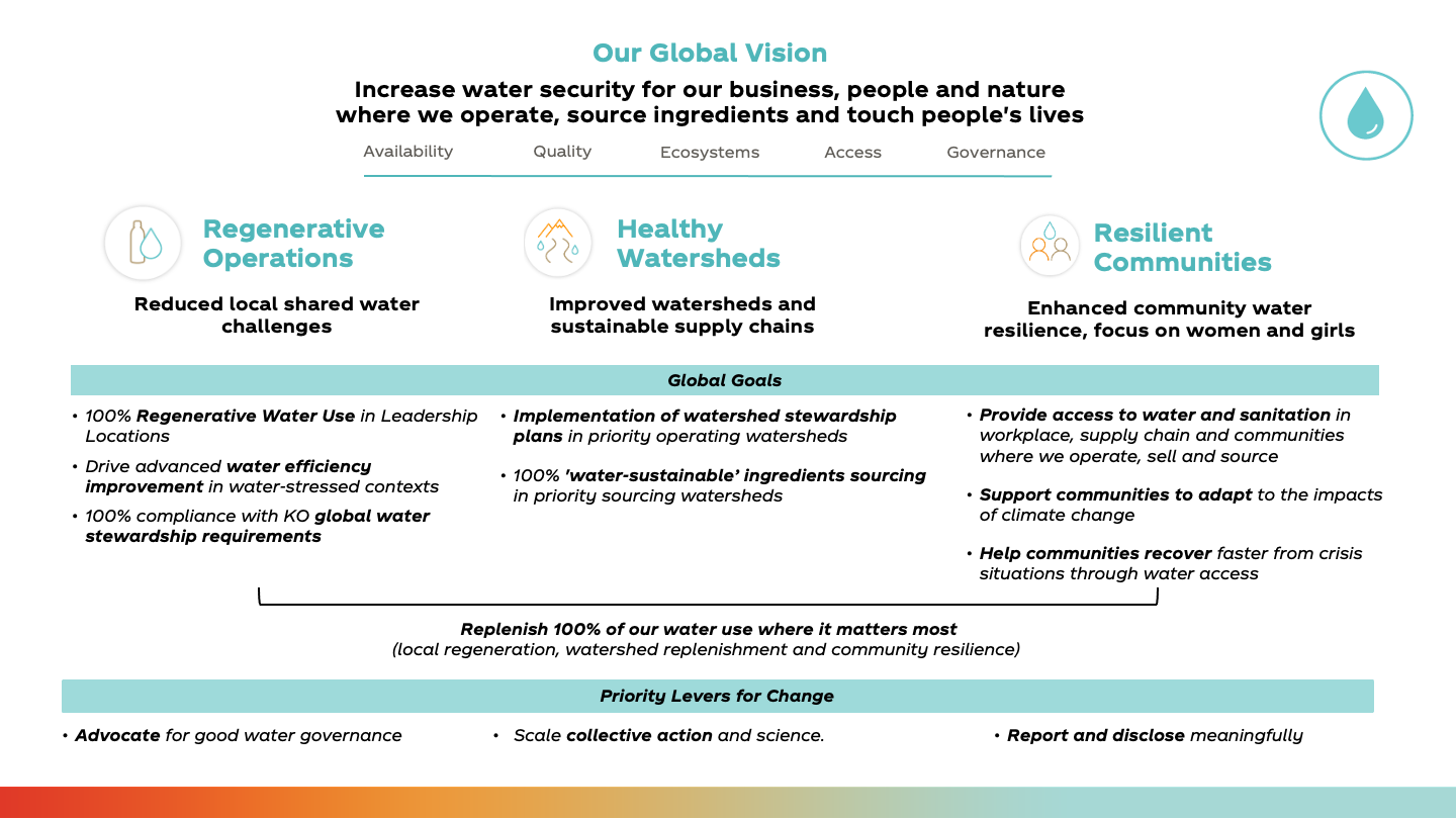 Framework for the 2030 Water Security Strategy