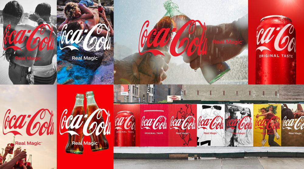 "Coca-Cola Real Magic ""Hug"" Logo"