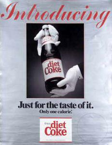 what was the first diet soda